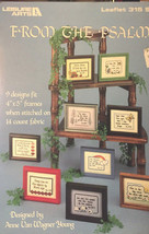 From The Psalms Counted Cross Stitch 315 Anne Young 9 4x5 Frames Designs Vintage - $13.69
