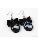 Rin and Yukio Okumura Earrings, Anime, Gothic Jewelry, Handmade, Resin - $6.00