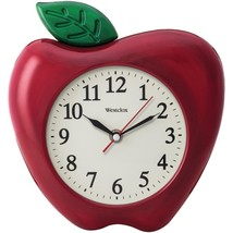 Westclox 32038A 3-Dimensional Apple 10 Wall Clock - $26.88