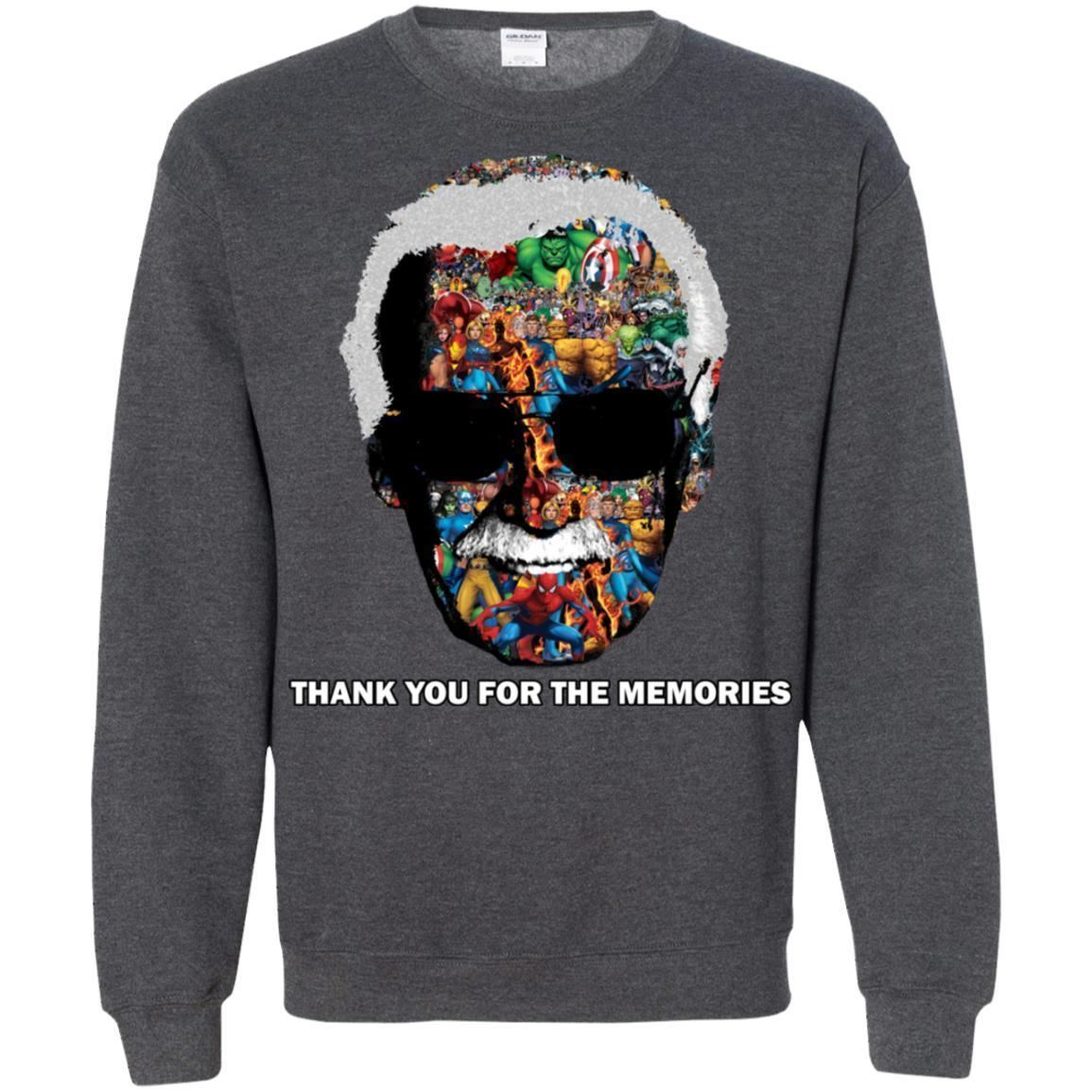 Thank You For The Memories Tee Shirt  - Inspired By Stan Lee Sweatshirt - Super image 9