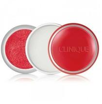 Clinique SWEET Pot Sugar Scrub and Lip Balm Lip Gloss RED VELVET 01 FS NeW - $17.50