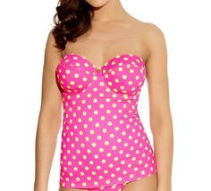 Freya Bon Bon AS3307 WPM Underwired, Padded, Multiway Bandeau Tankini Top - $41.19