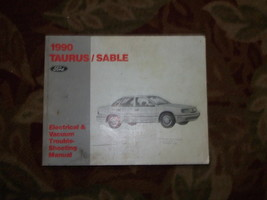 1990 Mercury Sable Elettrico Cablaggio Diagrammi Manuale - $9.84