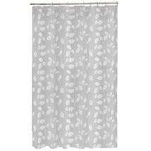 Maytex Mills 60090 Just Leaves  Shower Curtain,  White - $18.43
