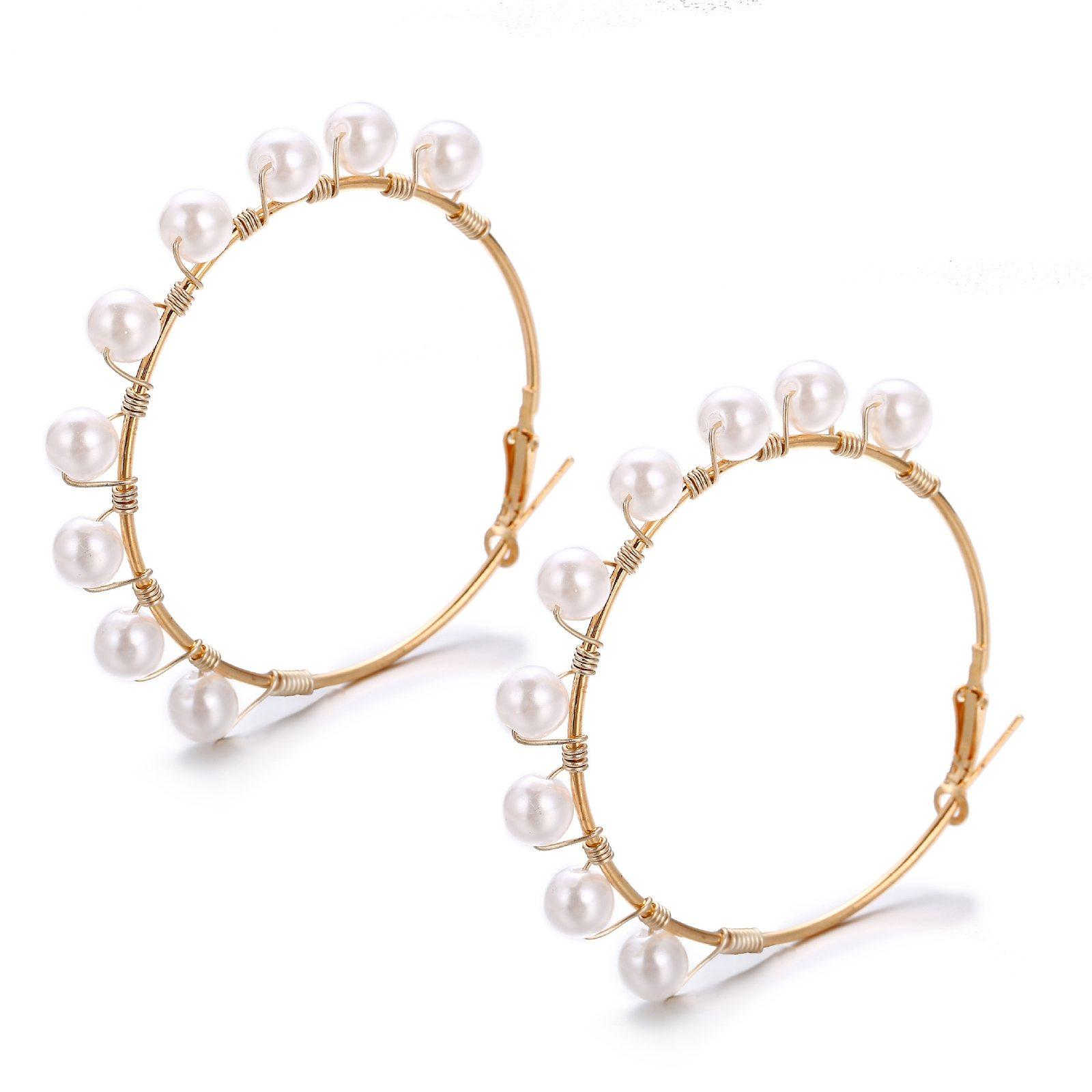 ZILPOIT New Fashion Jewelry Bijoux Gifts Wholesale Big Circle Round Drop Earring - $9.01