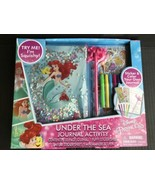 Disney Princess Under The Sea Journal Set The Little Mermaid Journal -NEW - $15.60