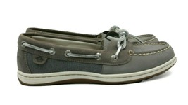 SPERRY Top-Sider Barrelfish LT Women's Boat Shoe - Grey - Size 5.5 - NEW Auth - $46.74