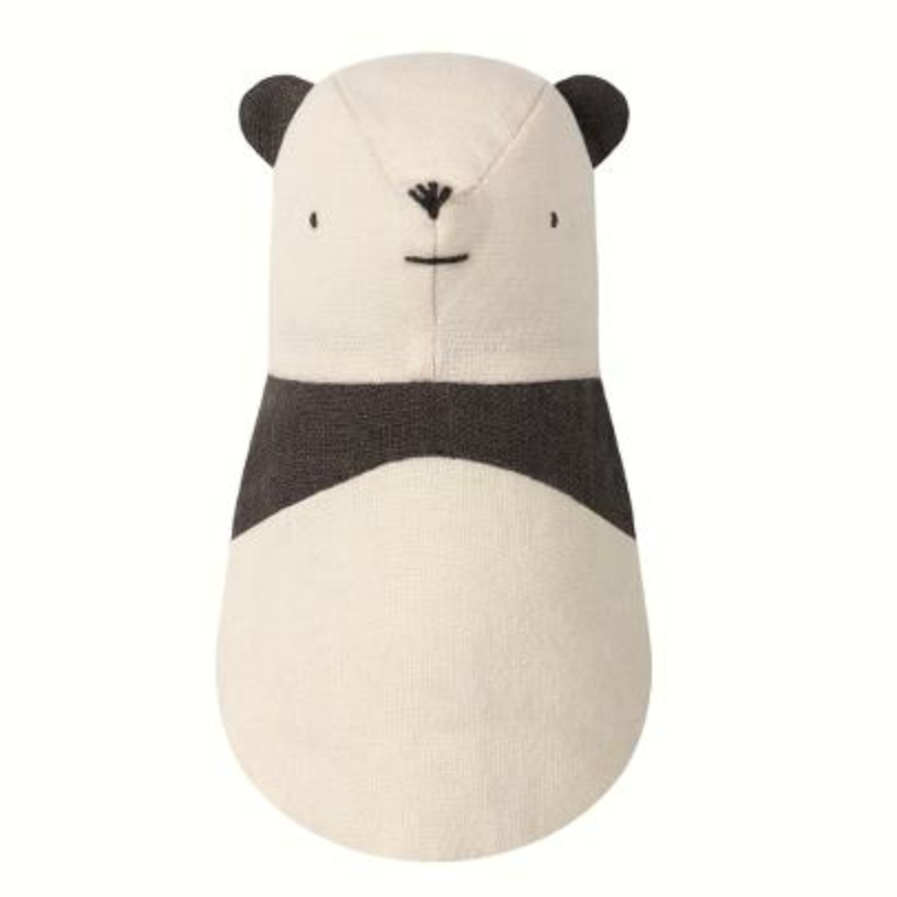 Primary image for MAILEG STUFFED PLUSH PANDA BEAR SOFT COTTON BABY RATTLE TOY NOAHS NOAH'S FRIENDS