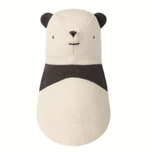 MAILEG STUFFED PLUSH PANDA BEAR SOFT COTTON BABY RATTLE TOY NOAHS NOAH'S... - $29.69