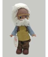"Precious Moments Disney Classic Geppetto Doll Linda Rick The Doll Maker 7"" - $27.88"