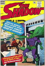 The Shadow Comic Book #3, Archie Comics 1964 VERY FINE- - $43.53