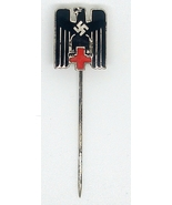 WW2 Original German Red Cross stick pin maker marked - $48.00
