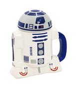 Star Wars R2-D2 Ceramic Mug With Lid - ₨1,600.18 INR