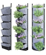 Vertical Wall Garden Planter with 6 Pockets Best Plant for  Hanging Herb... - $21.99