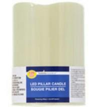 Luminessence Battery-Operated Ivory Wax LED Pil... - $2.88