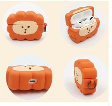Brunch Brother Lion Airpods Pro Case Protective Silicone Skin Cover Case image 3