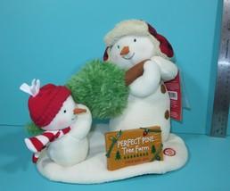 Hallmark Jingle Pals The Perfect Tree Snowmen Motion Sound Christmas 201... - $39.95