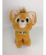 "Oliver & Company Vintage 1988 Disney 9"" Orange Cat with Collar Plush Stu... - $29.35"