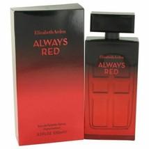 Perfume Always Red by Elizabeth Arden Eau De Toilette Spray 3.4 oz for W... - $27.57