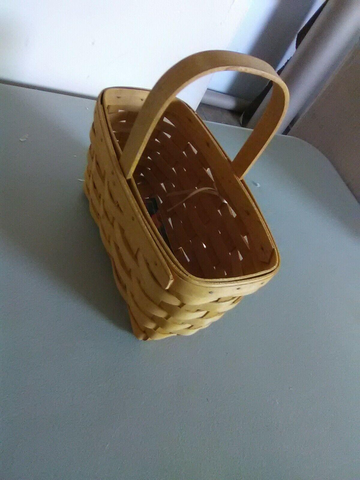 Longaberger Fixed Handle Candle Basket - 1999 image 5