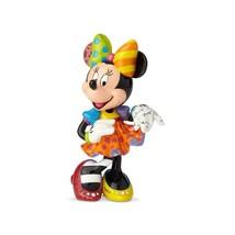 """10.24"""" High Disney Britto 90th Anniversary Minnie Figurine Multicolor image 2"""