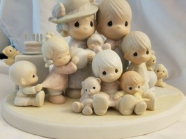 Precious Moments - God Bless Our Years Together 1984 Family - $25.69