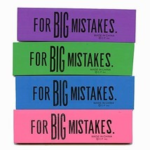 "Big Mistakes Eraser - 1.5"" x 6"" x .25"" 12 pcs sku# 1188288MA - $33.66"