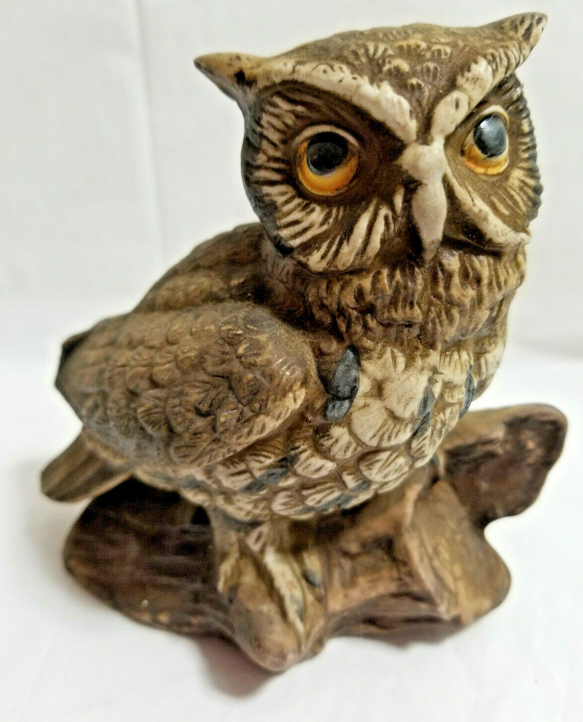 Primary image for HOMCO Wise Owl Bird Art Pottery Figurine Statue Brown