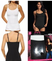 MAIDENFORM COTTON STRETCH CAMISOLES LAYERING TANK! 2 PACK - $14.99