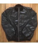 Dapper Dan Louis Vuitton LV Butter Soft Bomber Aviator Flight Leather Ja... - $3,999.99