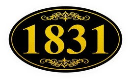 Personalized House Address Sign Plaque Aluminum Won't Fade, Peel or Chip... - $12.37