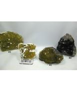 4) Amazing Fluorite Specimens, Moscona Mine, Solís, Asturias, Spain - $449.99
