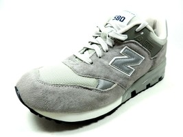 New Balance Mens Shoes CM580GR Casual Sneakers D Wide Leather Gray Vinta... - $76.49