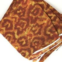 Mod Animal Print Fabric 2005 Cranston Print Works VIP USA Tribal Geometr... - $19.79