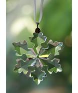 2016 Swarovski small snowflake star Christmas ornament #5180211 little mini - $32.65