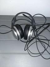Sony MDR-XD100 High Fidelity Headband Headphones Silver/Black - $19.99