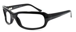 Maui Jim MJ-189-02 Lagoon Sunglasses Gloss Black Wraparound 62-20-120 FR... - $48.60