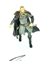 """Legolas 7"""" Action Figure Lord Of The Rings ToyBiz 2002 With Swords Bow A... - $25.00"""