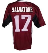 Stefan Salvatore #17 Vampire Diaries New Men Football Jersey Maroon Any Size image 4