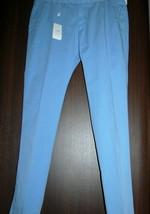 Armani Collezioni Light Blue Cotton Men's Casual Pants Trouser Sz US 40 EU 56  - $148.49