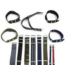 NATO Watch Strap Band Army Military Nylon One Piece Mens G10 18mm 20mm 2... - $8.84