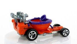 Vintage Loose Hot Wheels Mainline Orange Hot Seat Toilet Go Cart image 3