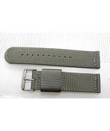 20mm  Canvas Fabric Military Watch Band Euro Stitched VICTORINOX SWISS - $16.36