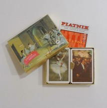 Piatnik Edgar Degas Playing Cards Double Deck Ballerinas 2254 Made In Austria - $14.84