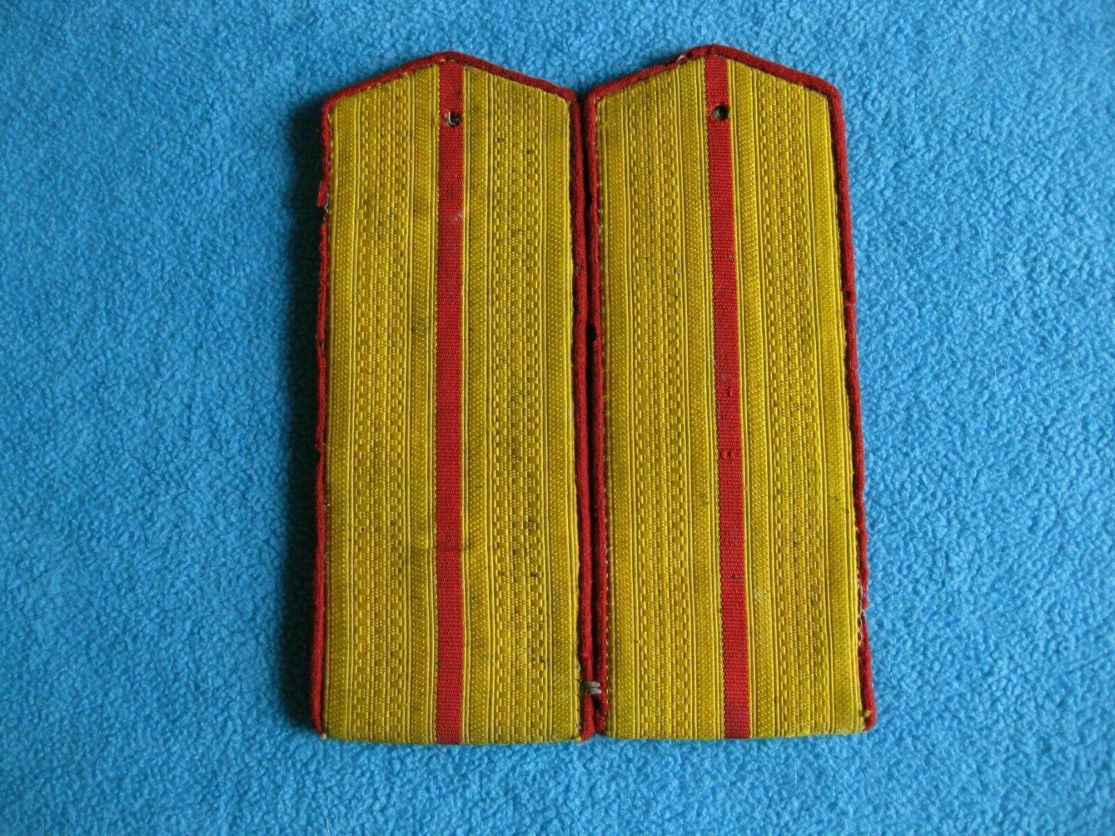 Shoulder straps border troops artillery Soviet Union army Russia - $188.10