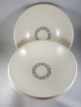 "3 Canonsburg Temporama Vegetable Bowls Atomic 9"" Diameter - $12.86"