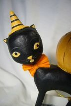 Bethany Lowe Kitten Around Owl & Pumpkin Last one! image 3