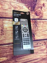 Universal Remote Control - GE 4-Device - Brushed Nickel (33709) [LN]™ - $8.59
