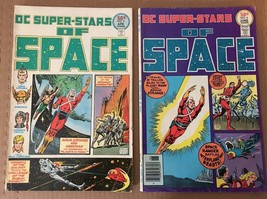 DC Superstars Of Space #2 & 4 DC Comic Book 1976 VG 5.0 Condition Adam S... - $7.27