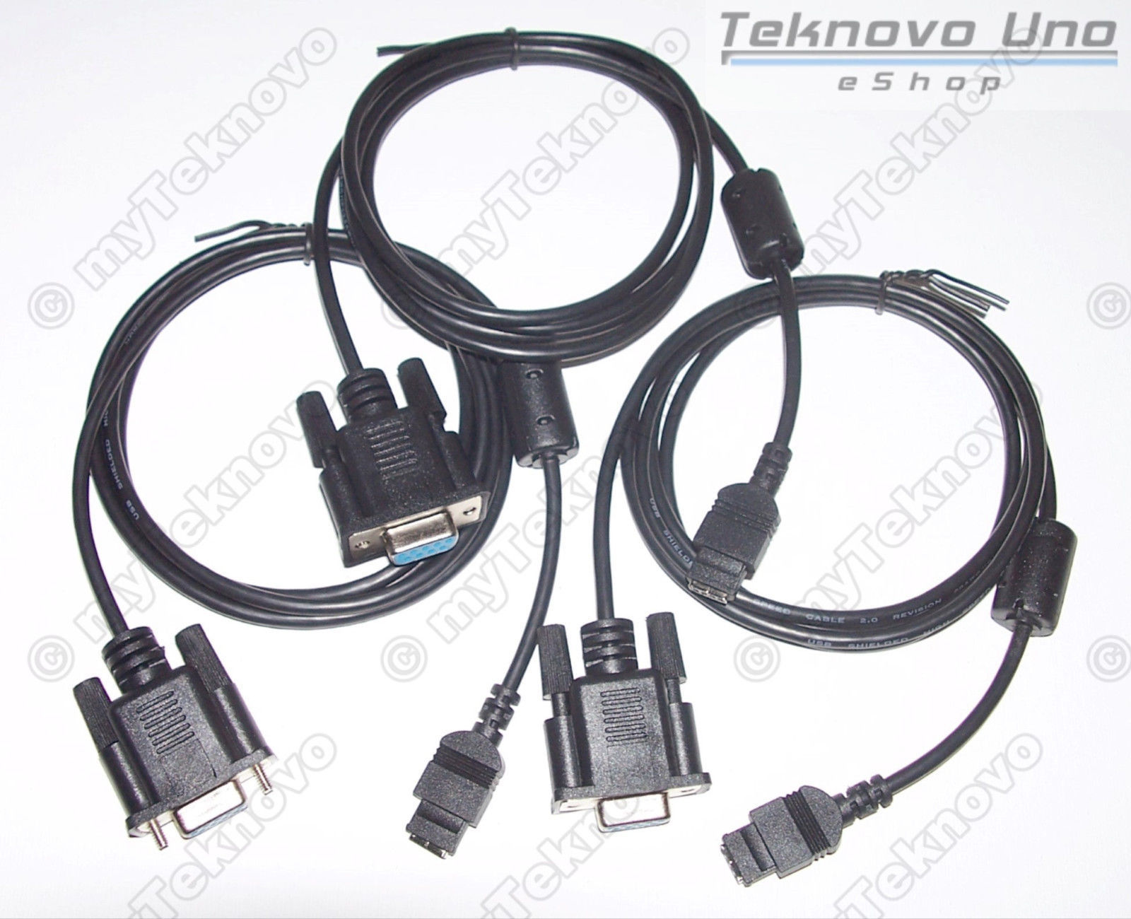 3x Serial Cable DB9 for HP 48G 48GX 48SX [HP48G+ HP48S HP48GX] & CD - USA